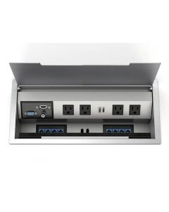 Interface1 G2 Table Top Power Data Trough