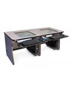Downview Computer Desk for Two Uers
