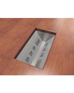 Oasis Mini Under Table Trough for Conference Table