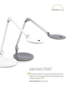 Element Disc Thin Film LED Desk Lamp