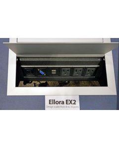 Ellora E2X In-Surface Power-Data Port