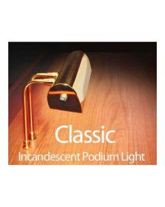 Classic Podium Light, Brass