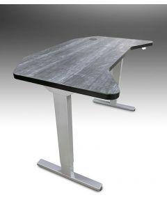Smart desk electric standing desk in Ebony Char