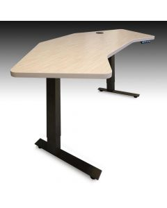 68 Inch Wide Desktop Electric Smart Desk for Home Office or Co-working Space