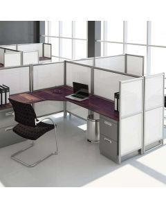 3X Dual Panel Office Partitions