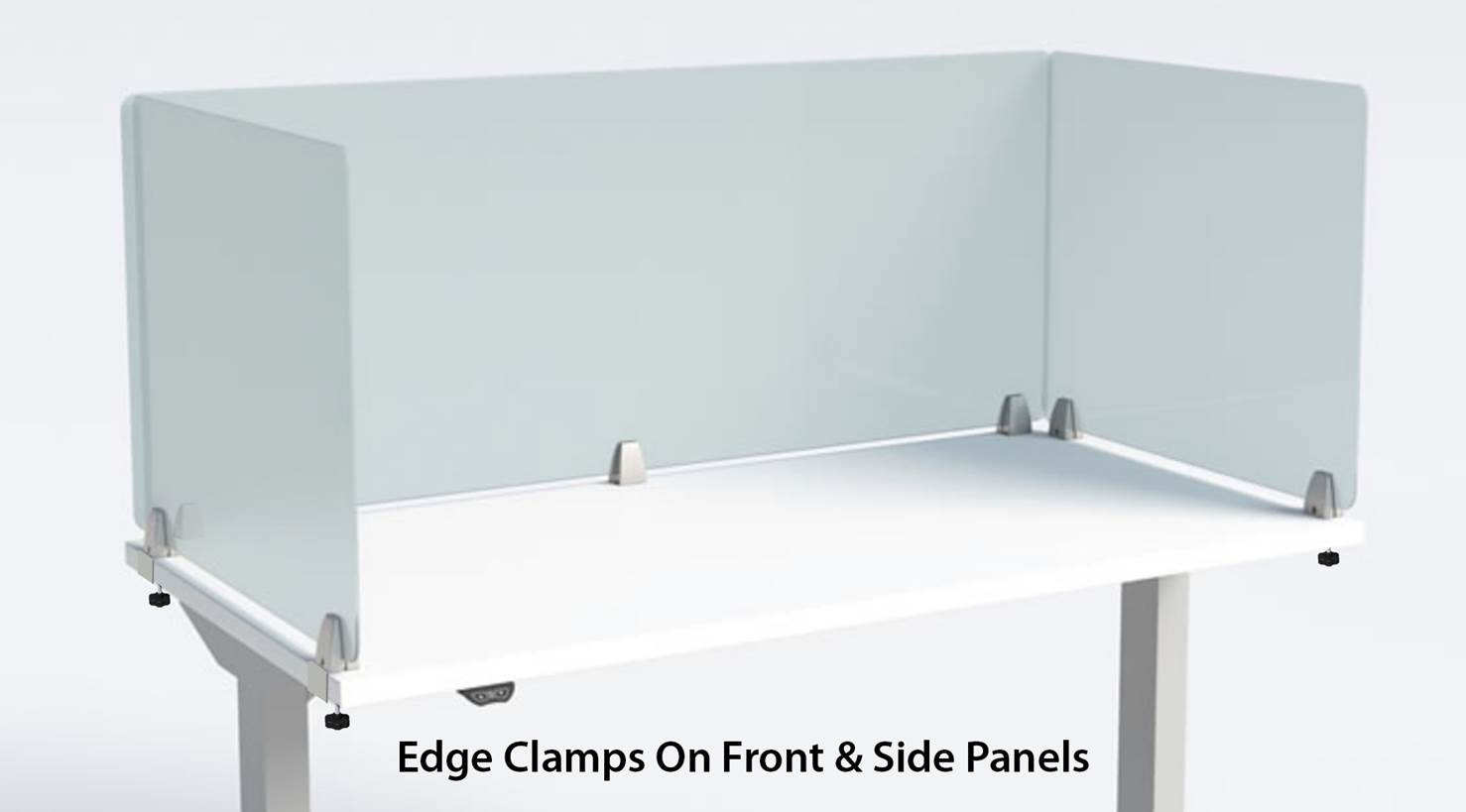 Edge Clamps on Front and Side Panels